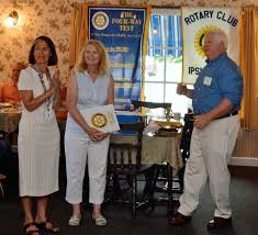 Ipswich Rotary Inducts Elaine Richter | Rotary Club of Ipswich