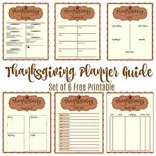 Stress Less Thanksgiving Planning Guide How To Notebook