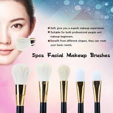5pcs makeup brushes set brushes for foundation powder cosmetic kit women makeup brush with wood handle for blush
