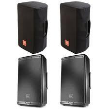 jbl pa speakers. 2 x jbl eon612 2000w powered 12\ jbl pa speakers
