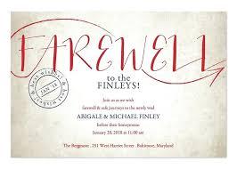 Farewell Party Invitation Sample Wording Sayings Aplicativo Pro