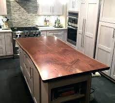 wood countertop for island inspiration gallery from live edge wood in a very good white