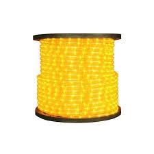 3 8 Incandescent Rope Light Gold Orange Incandescent Rope Light 150