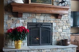 frameless glass fireplace doors. 5 Custom Fireplace Doors Types To Consider Frameless Glass M