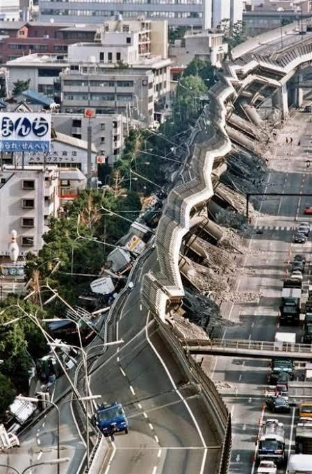 1995 Kobe earthquake, Japan. The 1995 Great Hanshin Earthquake (M ...