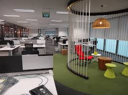 office seating area. Google Office Singapore Seating Area