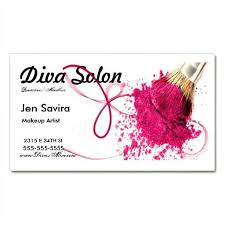 makeup artist business card template psd