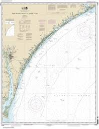 11539 New River Inlet To Cape Fear Nautical Chart