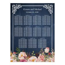 Blackboard Seating Chart Wedding Seating Chart Chalkboard Celebration