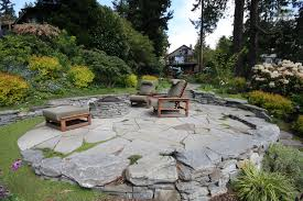 flagstone patio with grass. Flagstone Patio Contemporary With Circle Grass