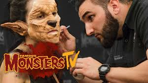 sfx makeup artist walter welsh famous monsters tv