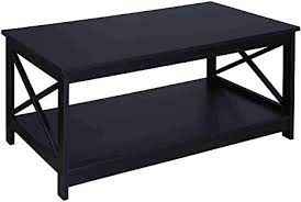 This coffee table was a commission project and i am very happy with how it came out! Amazon Com Convenience Concepts Oxford Coffee Table Black Furniture Decor