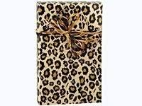 print leopard gift wrap wrapping paper