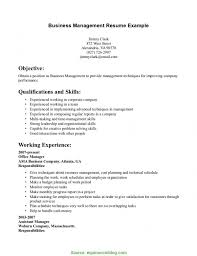 Business Management Resume Template Business Management R Rs