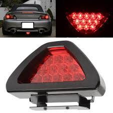 Universal Third Brake Light Details About Universal F1 Style 12 Red Led Red Lens Bolt On Rear 3rd Brake Light Stop Lamp Us