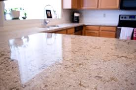 kitchen island close up. Good Quartz Kitchen Island Countertop With Sink And Lighting Close Up