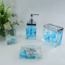 sets bed bath accessories frosted glass bathroom accessories green glass bathroom charming blue glass bathroom accessories of green