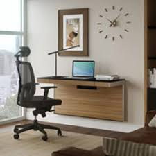 Office modern Interior Compact Wall Mounted Desks Freshomecom Modern Office Furniture Desks Chairs Bookcases More Yliving