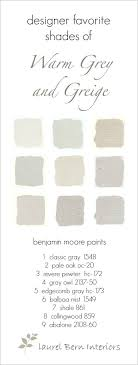 light gray paint colorsNine Fabulous Benjamin Moore Warm Gray Paint Colors  laurel home