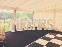 Mr And Mrs Light Up Sign Hire 4ft Large Light Up Mr Mrs Led Letter Lights Available To