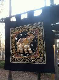thai kalaga hanging wall tapestry