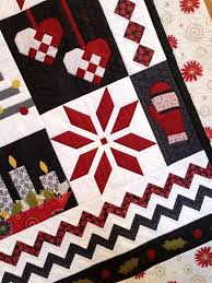 146 best Quilt Border and Embellishment Ideas images on Pinterest ... & Nordic Christmas Quilt Pattern Adamdwight.com