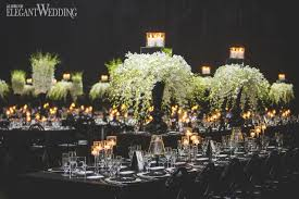 elegant black and white wedding classy black and white wedding elegantwedding ca