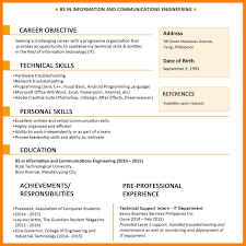 Simple Resume Template 100 simple resume sample for fresh graduate legacy builder coaching 95