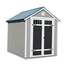 handy home products garden shed 6 ft x