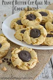 Peanut Butter Cup Cake Mix Cookie Recipe
