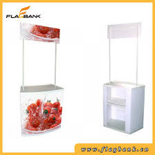 advertising plastic portable promotion snack counter