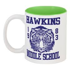 <b>Кружка цветная внутри</b> Hawkins middle school #2446113 в Москве