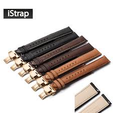 online get cheap seiko watch bands for men aliexpress com istrap 18mm to 22mm watchband calf leather