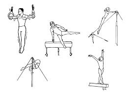 Kleurplaat Gymnastiek Afb 10126 Images
