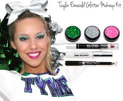 taylor emeral glitter cheer makeup kit