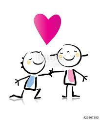 In Love Cartoon