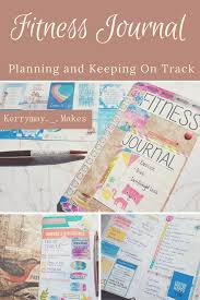 Fitness Journal And Weight Loss Motivational Planner