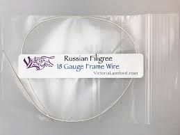 russian filigree frame wire