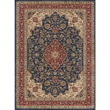 this review is from sensation navy blue 9 ft x 12 ft traditional area rug