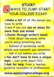 Tips For Writing College Essays College Essay Writing 5 Tips To Reduce The Stress Weston