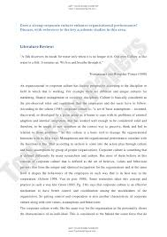 corporate culture effect on performance enhancement academic essay  get your work done by topgradepapers com does a strong corporate culture