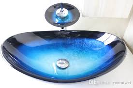 2019 toughened glass hand wash basins hand painted art bathroom sink basin sink basin basin basin basin basin dresser wash basin n 779 from yanruiwei