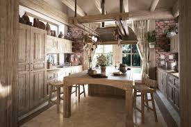 Rustic Wooden Kitchen Table Kitchen Amazing Rustic Kitchen Cabinet Hardware With Round Beige