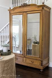 antique armoire furniture. How To Decide Whether Or Not Give Antique Furniture A Makeover - So Much Better Armoire U