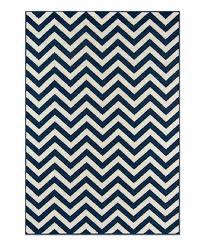 navy chevron baja indoor outdoor rug