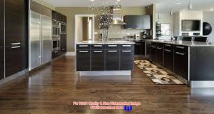 Wooden Floors In Kitchens White Kitchen With Hardwoods Pictures Custom Home Design