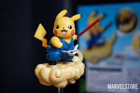 Mô hình Pokemon pikachu Goku (Pikaku) – Marvelstore