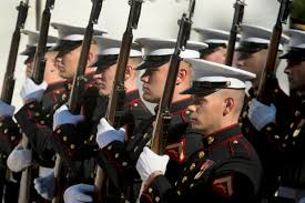 u s department of defense photo essay  the marine corps honor guard participates in the veterans day wreath laying ceremony at the
