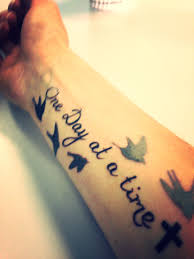 My First Tattoo I Was In A Motorbike Accident Two Years Ago And