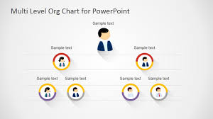 Organization Chart Ppt Free Download Free Multi Level Org Chart For Powerpoint